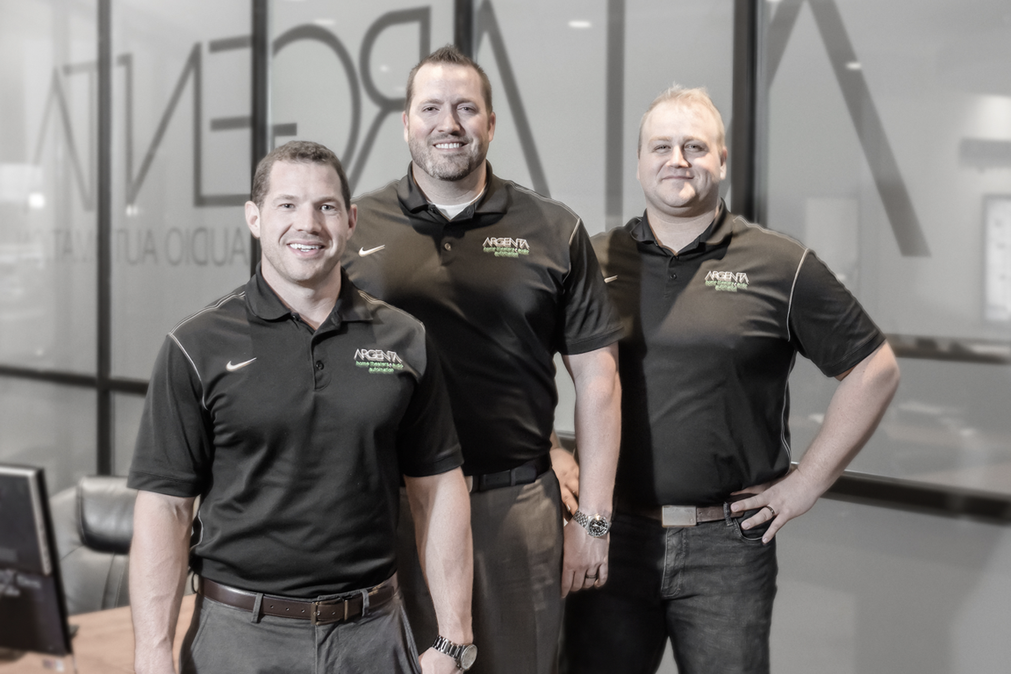 (left to right) Argenta co-owners Brad Larkin, Justin Rollins and Will Alley